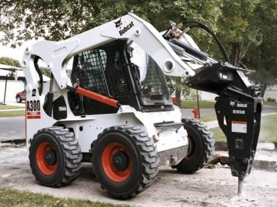 Bobcat a300 skid steer for rent